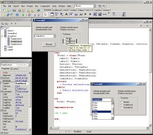 Screenshot Delphi