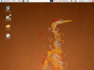 Plocha Ubuntu