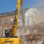 Šantovka - bourání starých budov