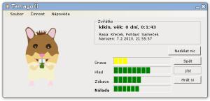 Tamagoči 1.3, Linux